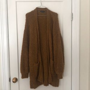 AE Cozy duster sweater size L perfect condition